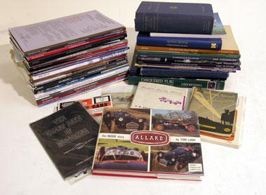 Lot 121-Quantity of Motoring Literature