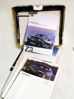 Lot 122-Quantity of BMW Brochures