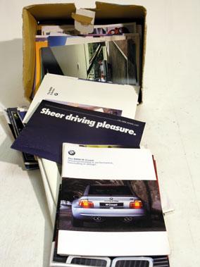 Lot 123-Quantity of BMW Brochures