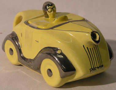 Lot 210-Sadler Porcelain Motor Car Teapot