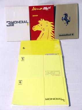 Lot 108-Quantity of Ferrari Handbooks