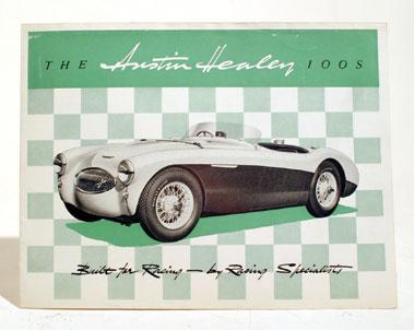 Lot 150-Austin Healey 100S Original Sales Brochure