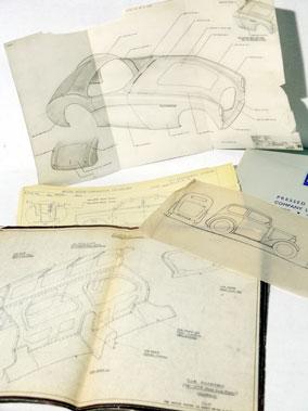 Lot 152-Austin, Morris & Austin Healey paperwork