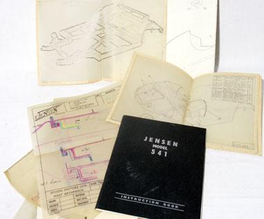 Lot 153-Jensen Drawings