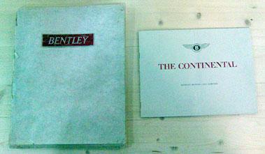Lot 110-Bentley Sales Brochures