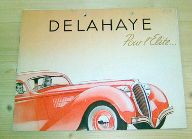Lot 102-Delahaye Sales Brochure - 1938