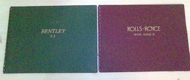 Lot 114-Rolls-Royce & Bentley Sales Brochures