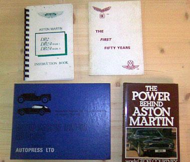 Lot 127-Aston Martin Literature