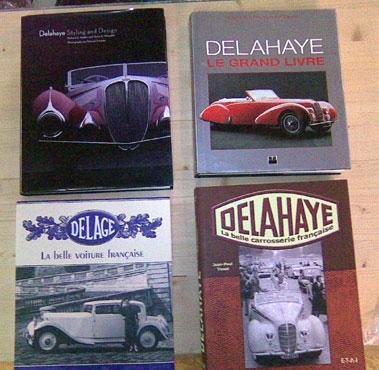 Lot 128-Delahaye / Delage Literature