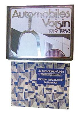 Lot 130-Automobile Voisin 1919 - 1958 By Courteault