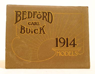 Lot 133-1914 Bedford Buick Sales Brochure