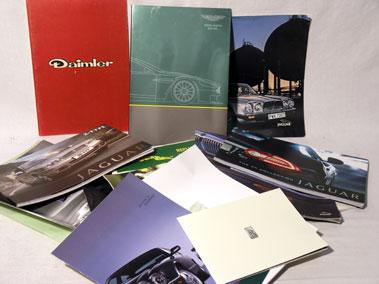 Lot 134-Quantity of British Sales Brochures