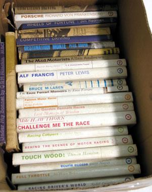 Lot 137-'Motoraces Book Club' Books