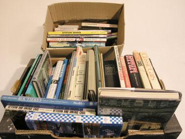 Lot 138-Quantity of Motoring Books