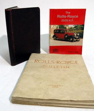 Lot 141-Rolls-Royce Paperwork