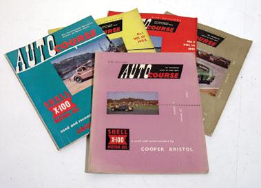 Lot 148-Five Autocourse Magazines