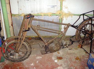 Lot 2-1921 BSA TT Racer