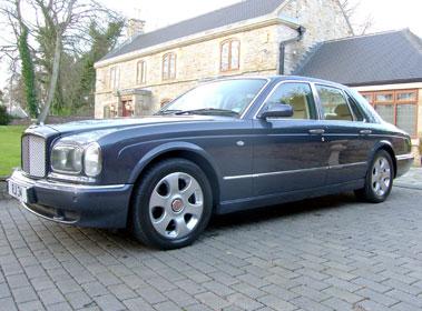 Lot 74-2001 Bentley Arnage Red Label