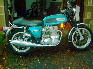Lot 12-1971 Triumph T150 Trident
