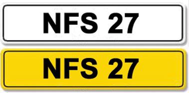 Lot 8-Registration Number NFS 27