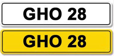 Lot 6-Registration Number GHO 28