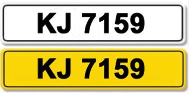 Lot 5-Registration Number KJ 7159