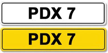 Lot 10-Registration Number PDX 7
