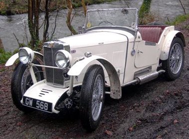 Lot 83-1931 MG D-Type Special