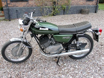 Lot 2-1973 Benelli 2C Elettronica