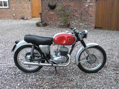Lot 26-1960 Bultaco Tralla 101