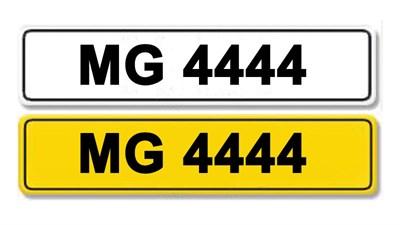 Lot 3-Registration Number MG 4444