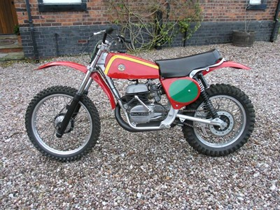 Lot 29-1977 Bultaco Pursang