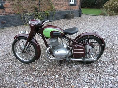 Lot 27-1955 Derbi 250