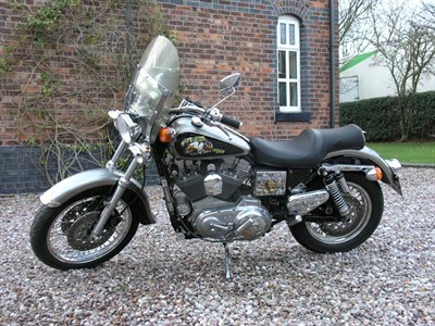 Lot 43-1992 Harley Davidson Sportster XL1200S Sport