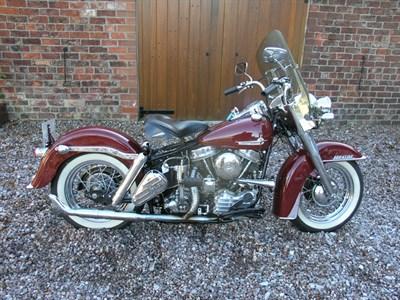 Lot 11-1961 Harley Davidson FLH