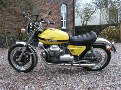 Lot 22-1974 Moto Guzzi 850 T