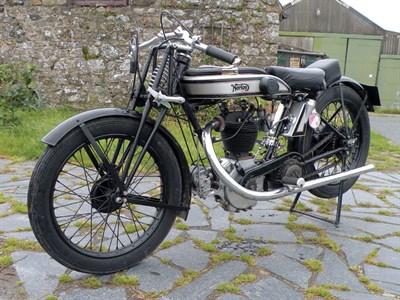 Lot 39-1925 Norton Model 18