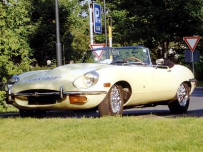 Lot 16-1968 Jaguar E-Type 4.2 Roadster