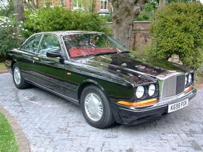 Lot 15-1992 Bentley Continental R