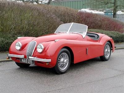 Lot 37-1952 Jaguar XK120 Roadster