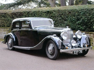 Lot 34-1938 Bentley 4.25 Litre Sports Saloon