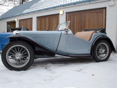 Lot 18-1948 MG TC