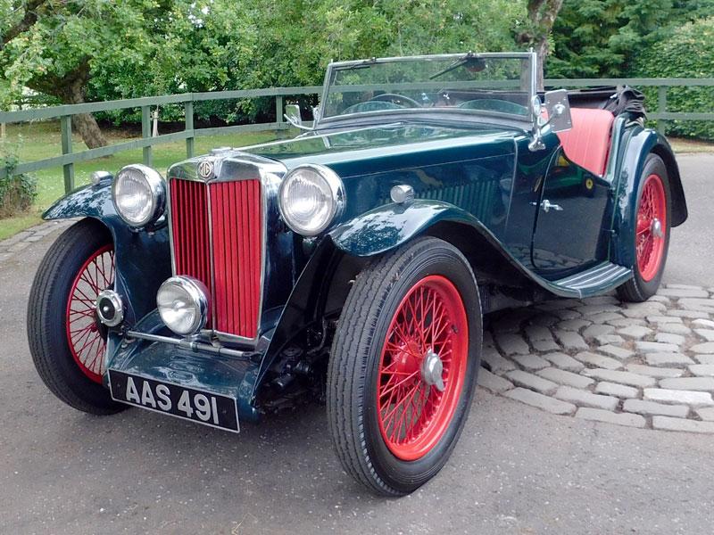 Lot 22-1937 MG TA