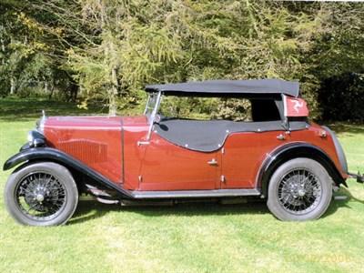 Lot 10-1932 Riley 9 Plus Ultra Tourer