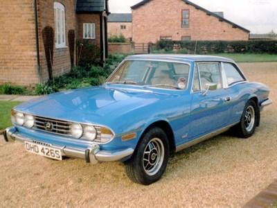 Lot 36-1977 Triumph Stag