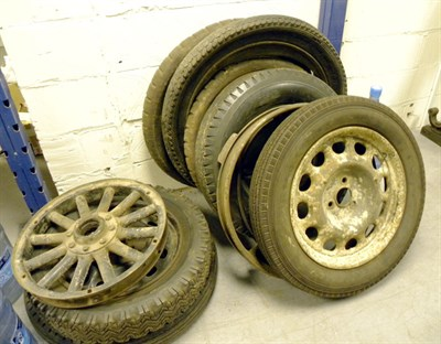 Lot 314-Assorted Wheels & Tyres **