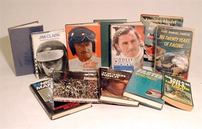 Lot 108-Quantity of Motor Racing Biographies / Autobiographies