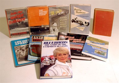 Lot 109-Quantity of Speed Record Books