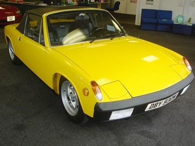Lot 35-1974 Porsche 914
