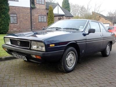 Lot 7-1983 Lancia Gamma